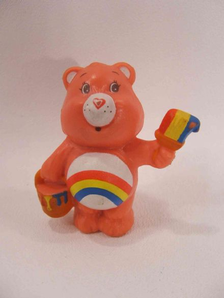 VINTAGE CHEER CARE BEAR MINIATURE